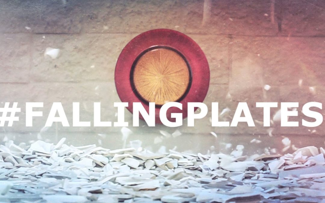Falling Plates: life, death and the love of Jesus