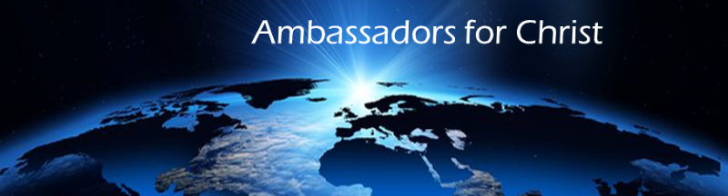 eInspire: Ambassadors for Christ banner