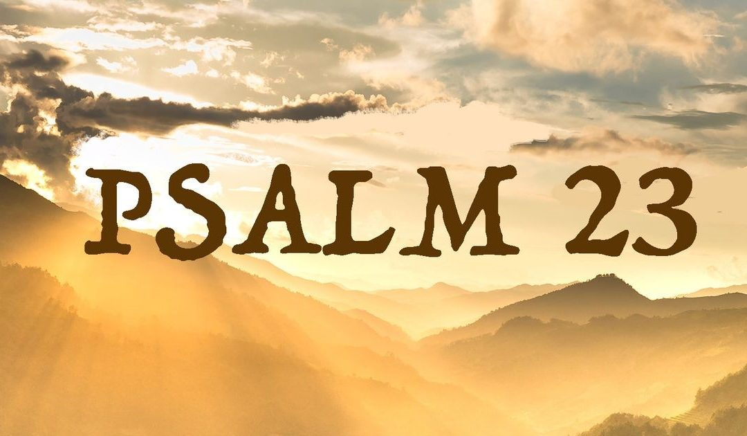 Psalm 23 Reflection