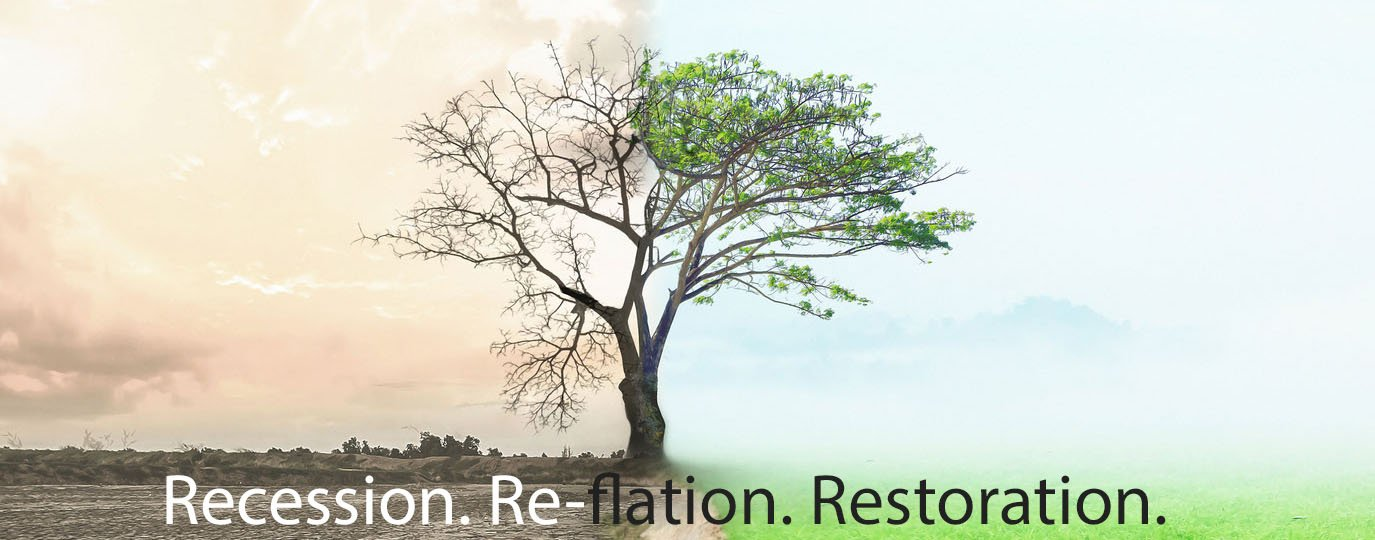 """Recession. Re-flation. Restoration."" with Jonathan Wellum"