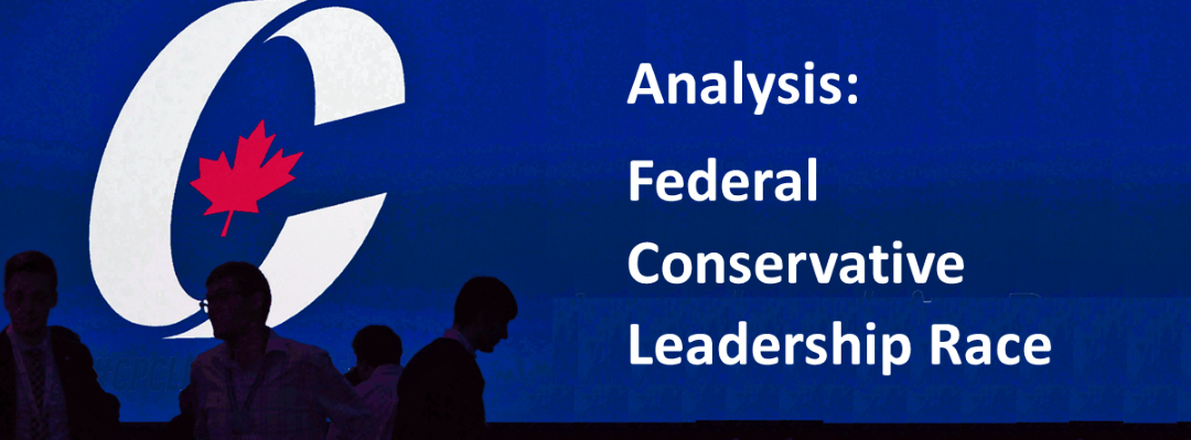 Leadership Race Analysis – Conservatives Decide!